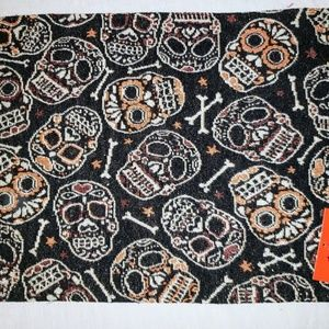 Halloween Skull Placemats NWT Set of four
